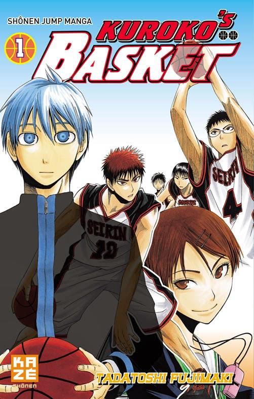 [7BD] Kuroko's Basket tome 1 chez Kaze