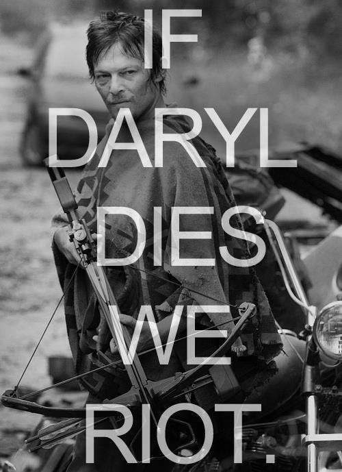 News the walking dead s norman reedus talks daryl dixon s death