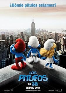 Los pitufos 3D (2011)