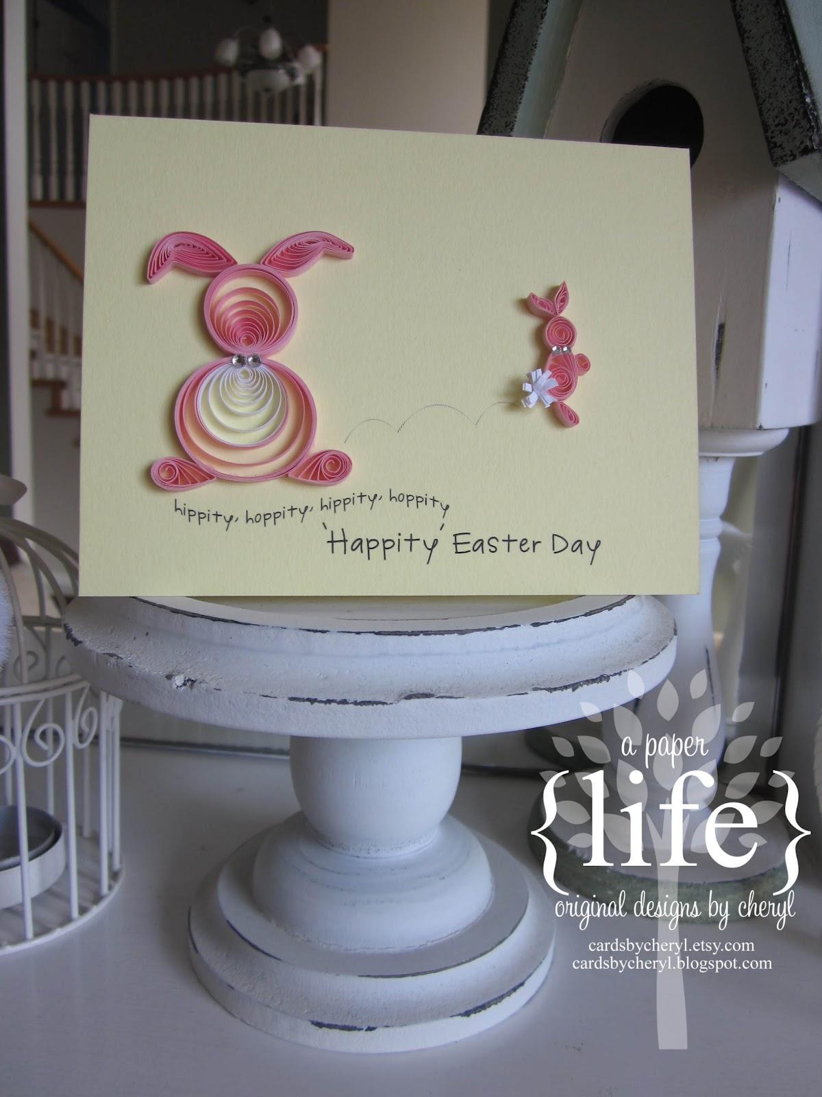 A Paper Life Hippity Hoppity Happy Easter