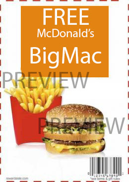 Use Code CDB1G1 to get your free burger. Verified 5 mins ago: 17 McDonald's Coupons for December ! Use our latest McDonalds coupons and to get FREE Meals, Wraps, Meals & Soft Serves.
