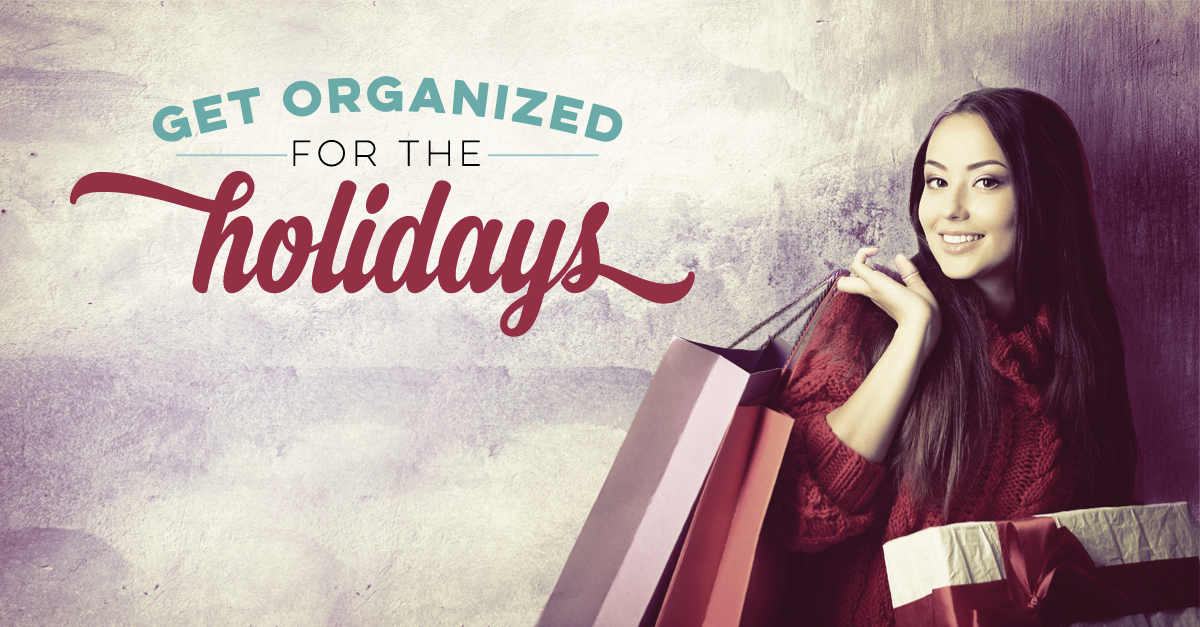 FREE DOWNLOAD from inkWELL Press: Holiday Organization Printables