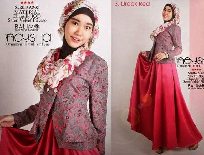 Model terbaru baju batik gamis modern trend model dan Baju gamis yg lg ngetren