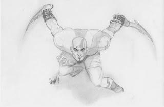 Kratos - Homem forte (desenho)