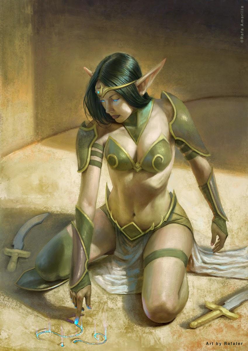 Ulrika Elf by Rafater