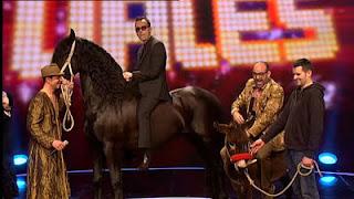 Sercam Shows-Gala final Tu si que vales caballo risto mejide
