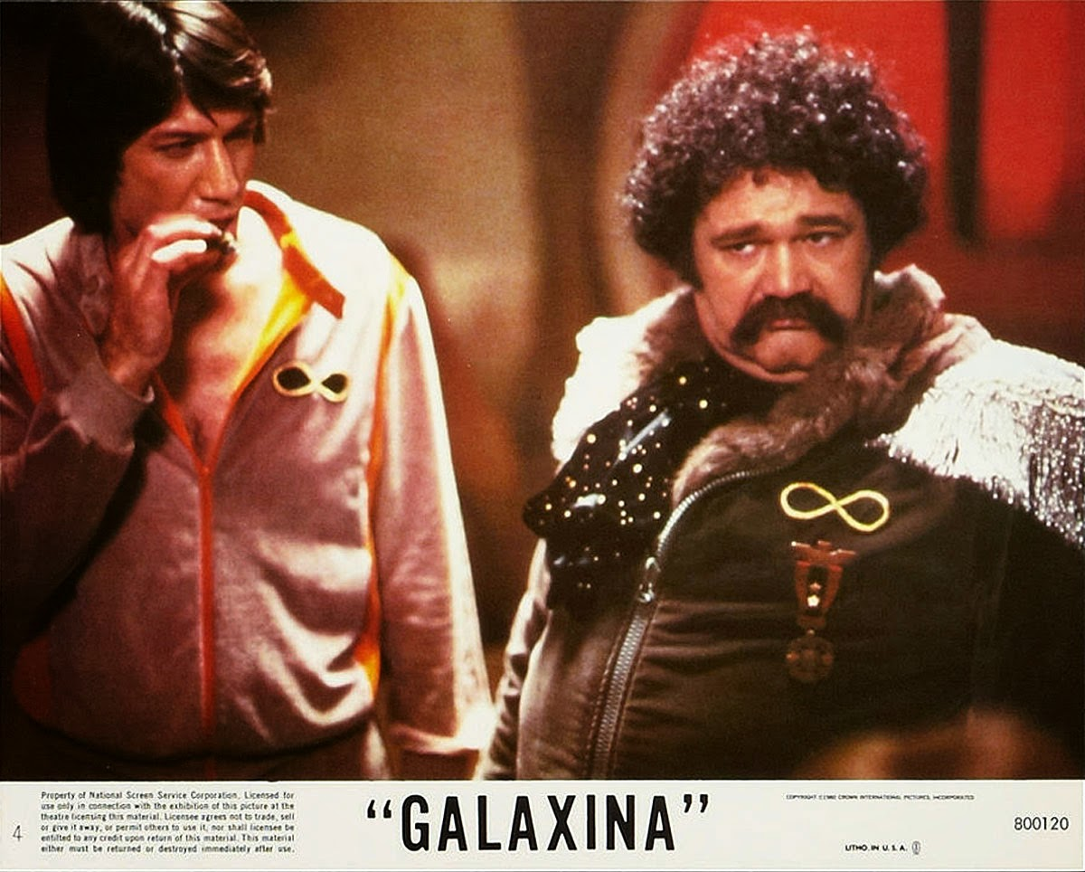 Steven Macht and Avery Screiber in Galaxina