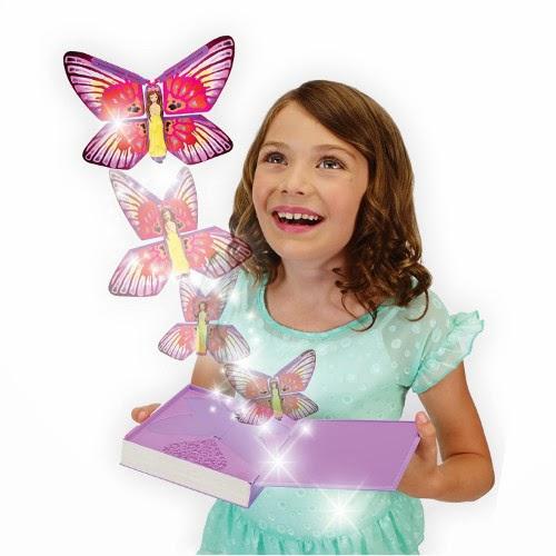 JUGUETES - FLUTTERBYE  Flying Fairy - Hada voladora mariposa  Producto Oficial | Bizak | A partir de 5 años