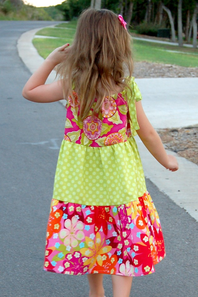 Tiered Pillowcase Dress Tutorial: How to Sew a Tiered Pillowcase Style Dress   Scattered Thoughts of    ,