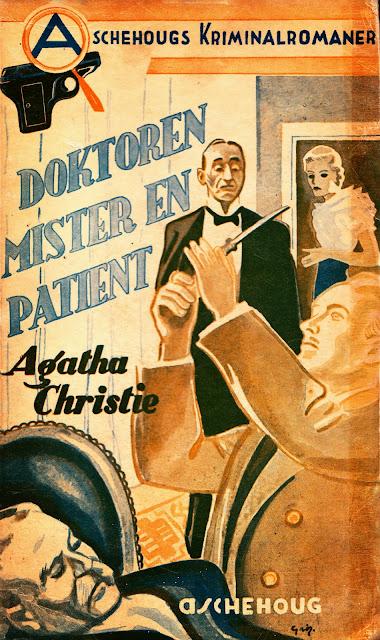 Agatha Christie - Doktoren mister en pasient - Aschehoug 1937