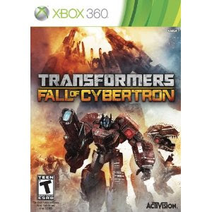 Transformers Fall of Cybertron Release Date Xbox 360