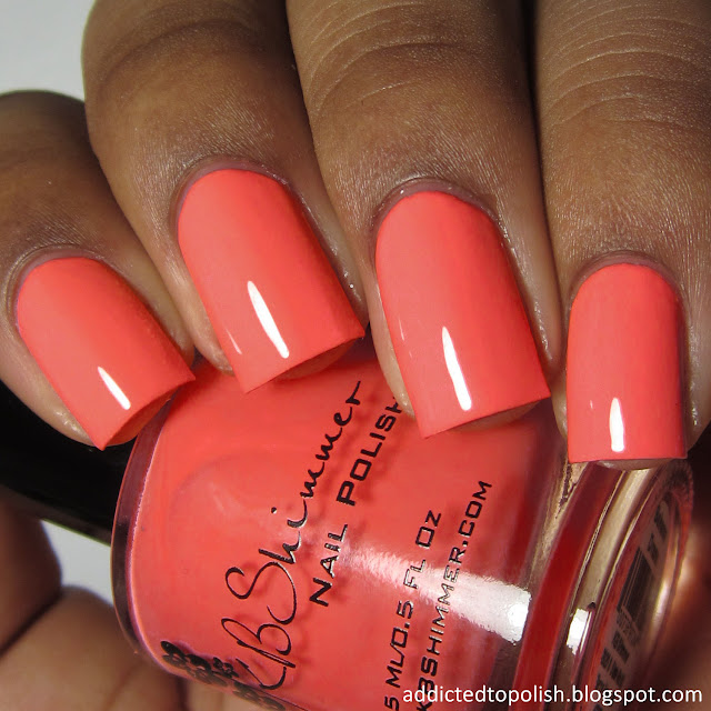 kbshimmer bahama drama bleached neon