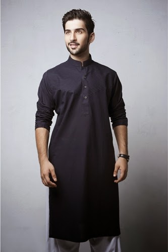 Bonanza Mens Eid Salwar Suits 2014