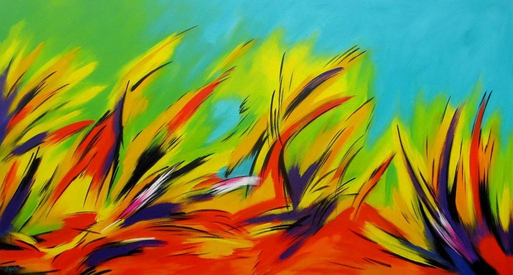 cuadros pinturas oleos cuadros acr licos abstractos