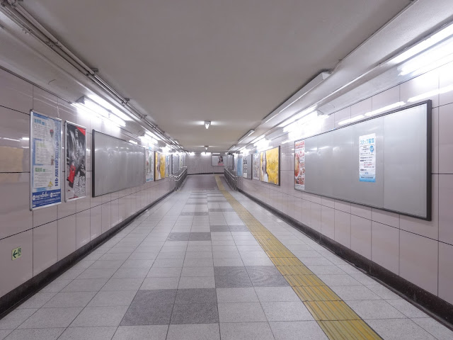 地下道,池袋駅〈著作権フリー無料画像〉Free Stock Photos