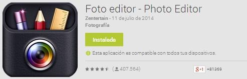 Foto editor - Photo Editor