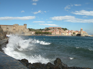 Collioure coastal village in south of France. Photograph by Janie Robinson, Travel Writer