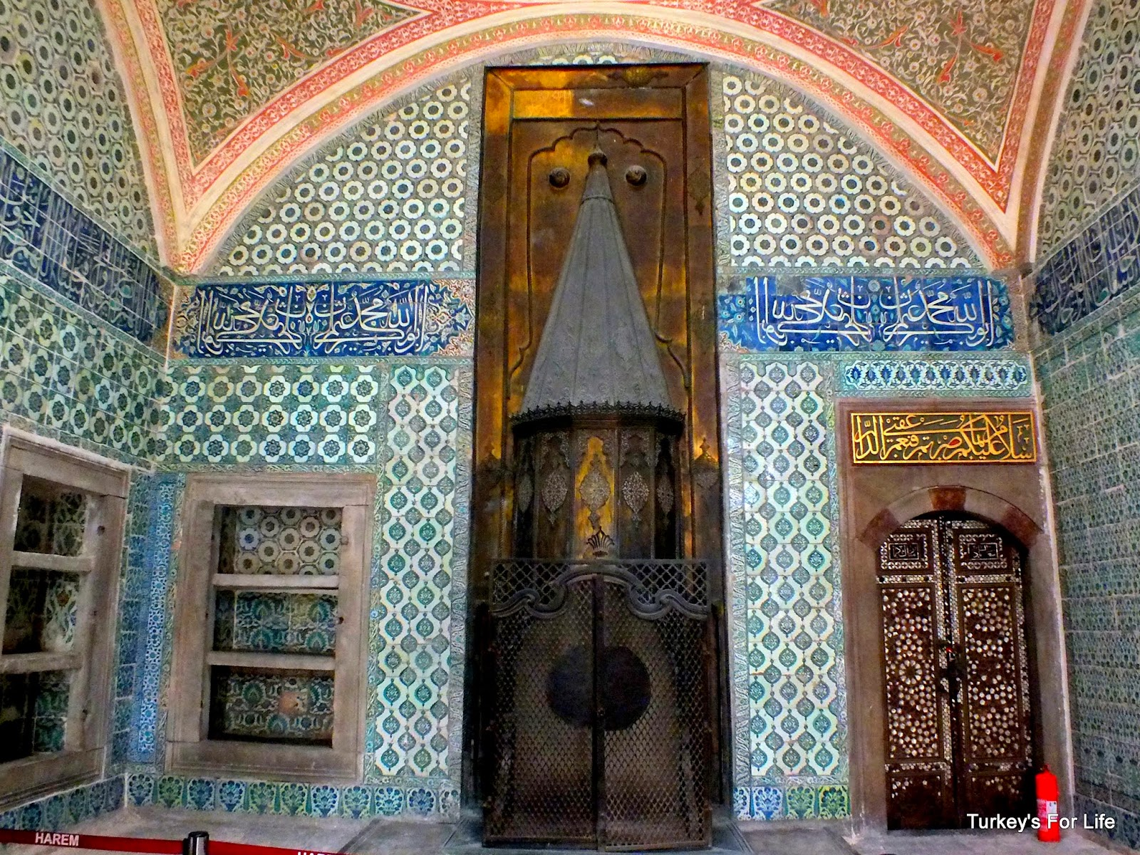 Harem Rooms, Topkapı Palace, Istanbul