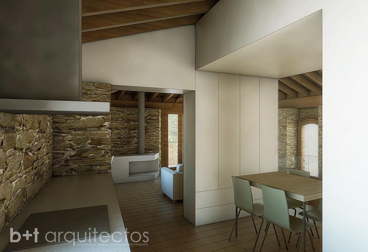 B t arquitectos rehabilitaci n en o courel - Rehabilitacion de casas antiguas ...