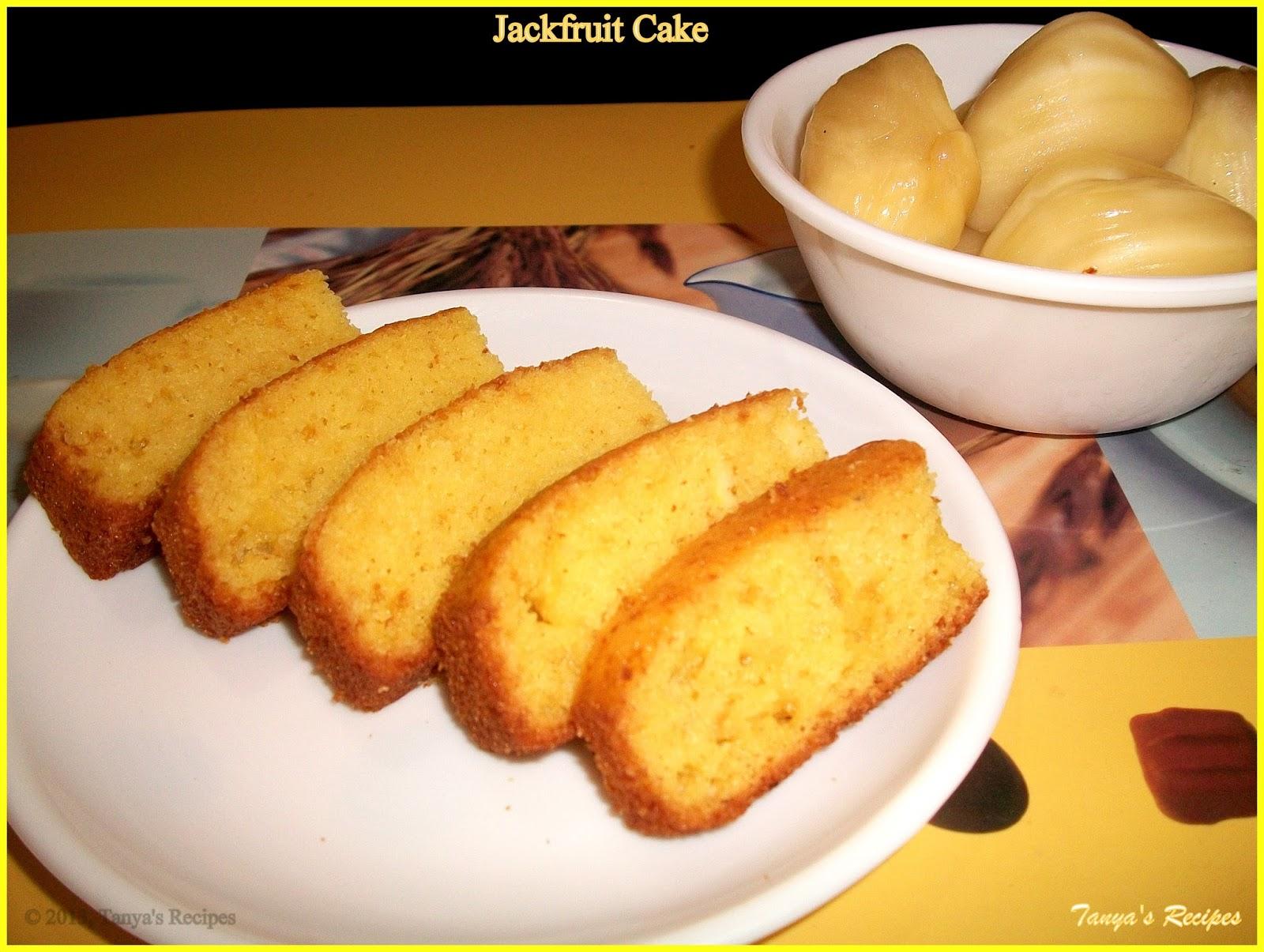 Ripe Jackfruit Cake Recipes