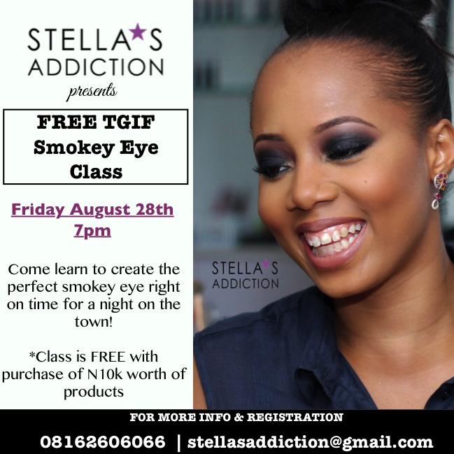 FREE Smokey Eye Class