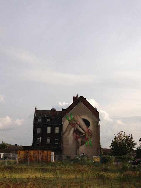 Street Art By Case On The Streets Of Dusseldorf, Germany. 2