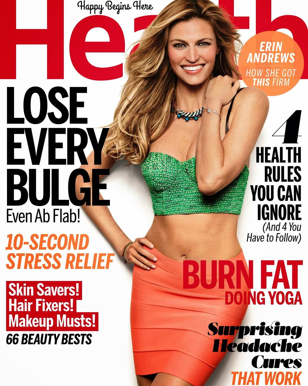 Erin Andrews - Health Magazine, September 2014