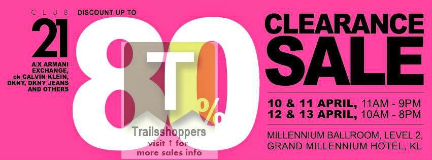 Club 21 Clearance Sale Kuala Lumpur Malaysia