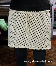 Free Pattern for Cover-up Skirt