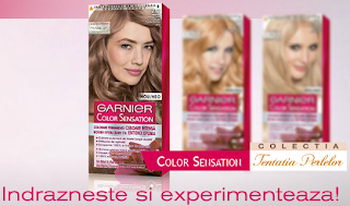 "Concurs Garnier 2013 ""Pearl Temptation Blonde"""