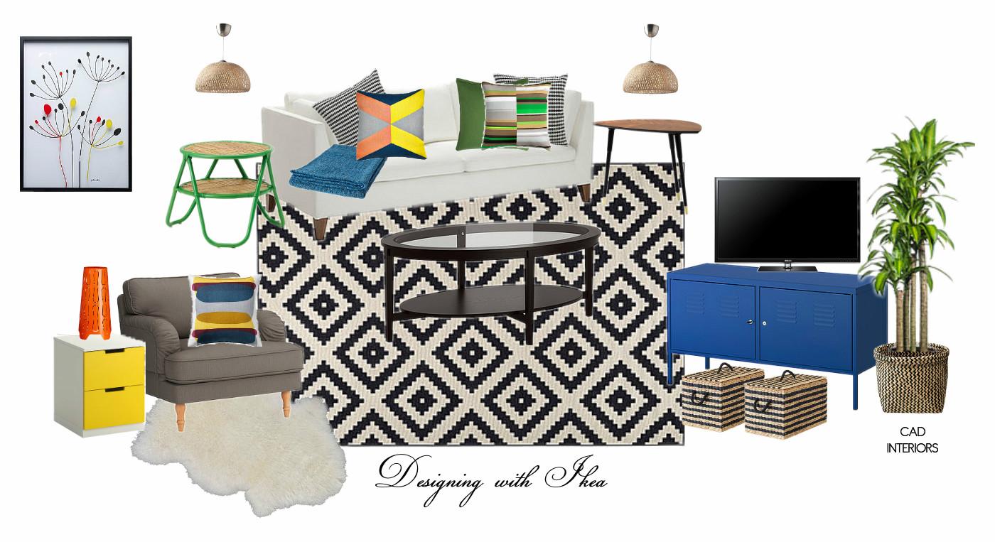 ikea interior design decorating home decor accessories e-design