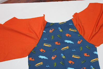 Raglan Tshirt Pattern (2T) and Tutorial