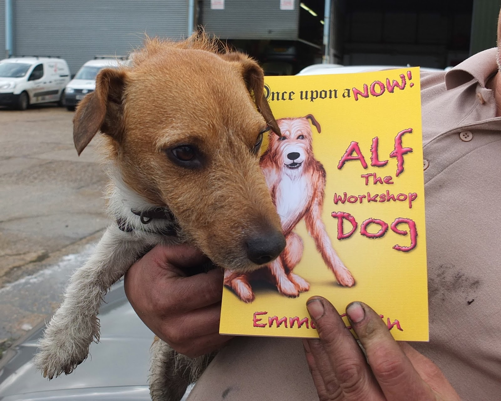 Alf The workshop dog, Alf, Dog, Children's fiction, paperback book, kid's books
