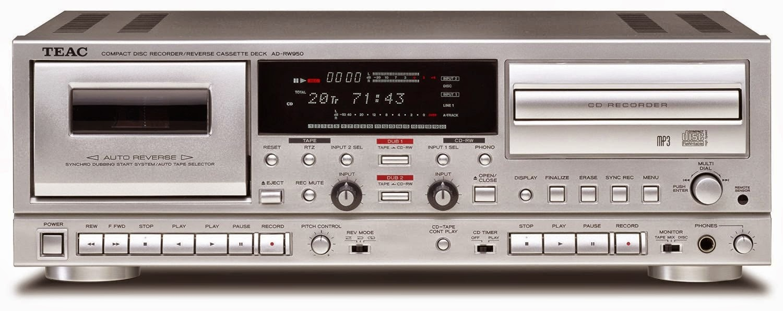 Mono And Stereo High End Audio Magazine Teac Ad Rw950 New