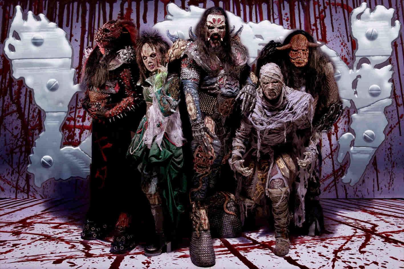 One of Lordi halloween costume