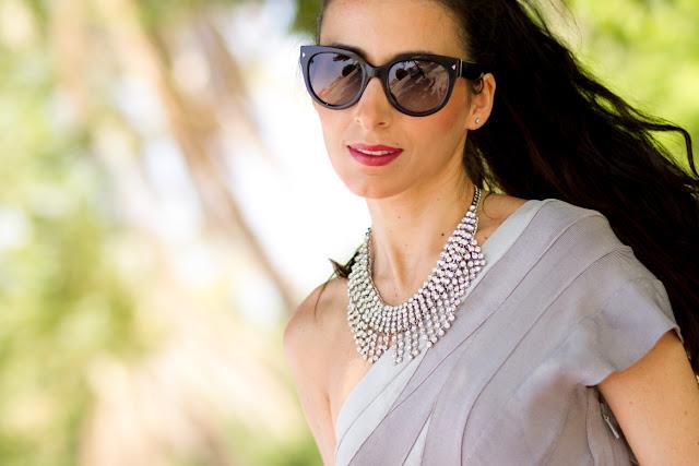 Sunglasses cateye Prada 17OS