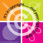 Copyright - respect the rights of the designer
