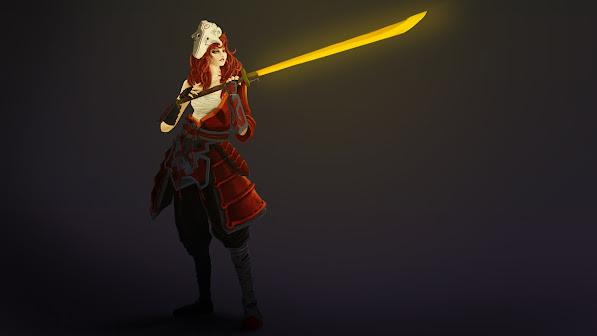 juggernaut yurnero girl version dota 2 game hd