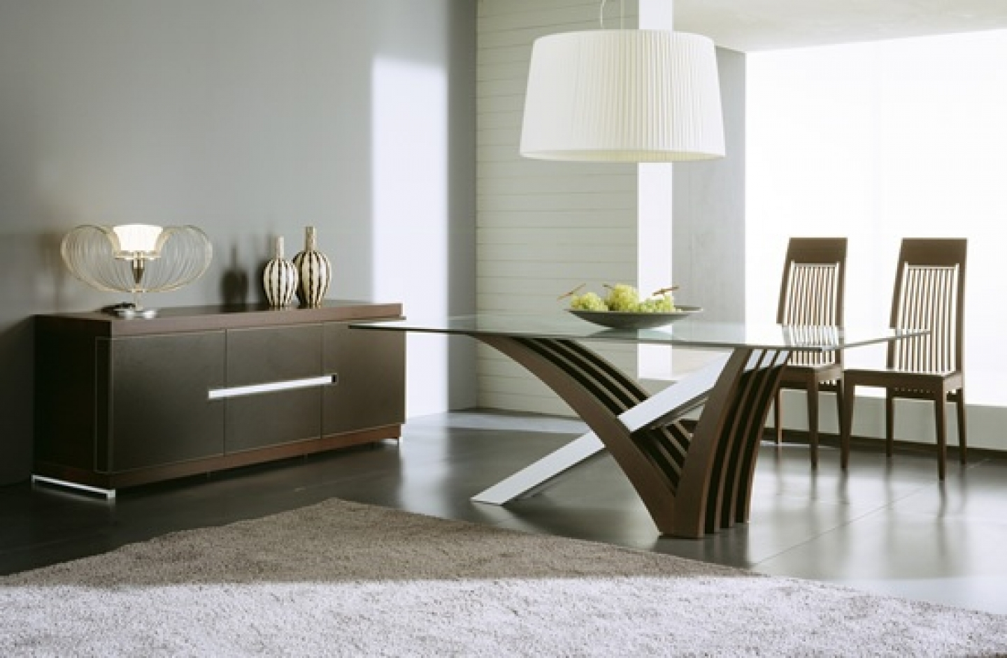 Teak patio furniture at home decor dream house for Modern dining table decoration ideas