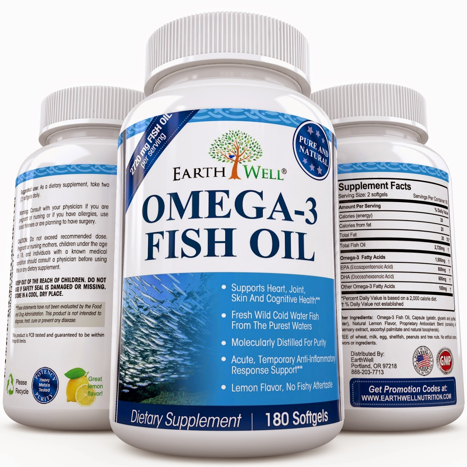 Ramblings of a coffee addicted writer omega 3 lemon for Fish oil reviews