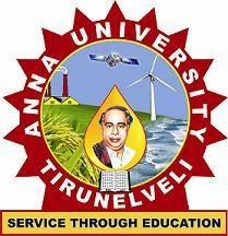 ANNA UNIVERSITY OF TECHNOLOGY TIRUNELVELI