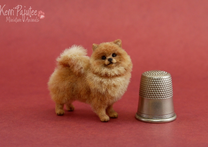 16-Red-Pomeranian-Kerri-Pajutee-Miniature-Sculpture-that-look-Real-www-designstack-co