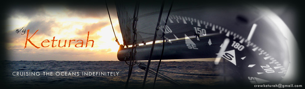 Crew on Keturah sailing around the world. Cost share boat. Adventure crew
