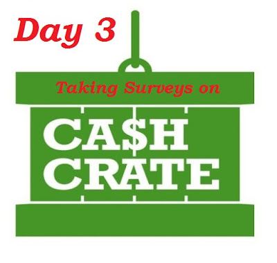 Day 3 using Cashcrate