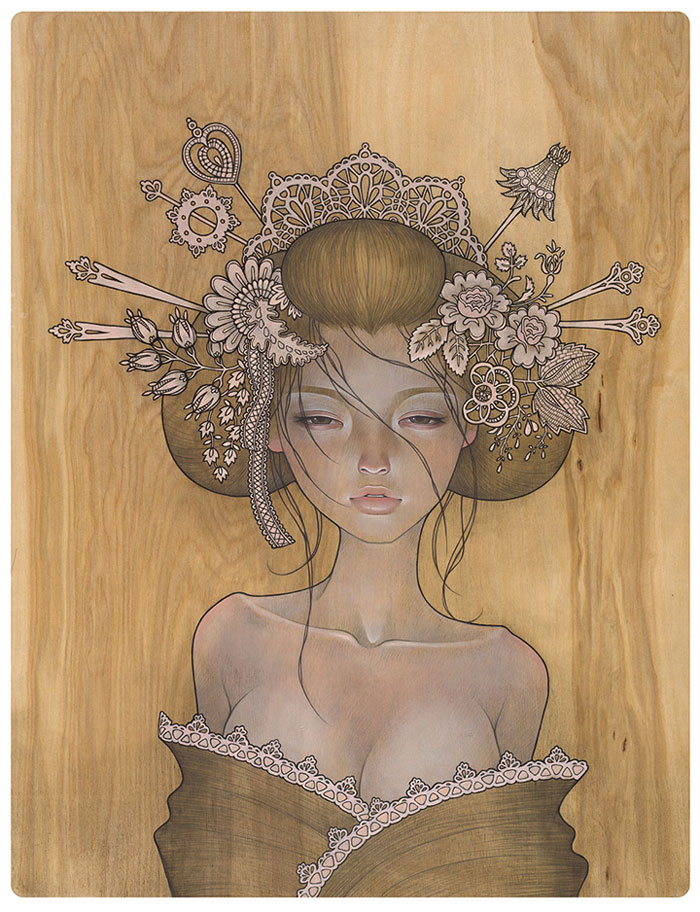 Doctor Ojiplático. Audrey Kawasaki. Ilustración | Illustration. Yuuwaku