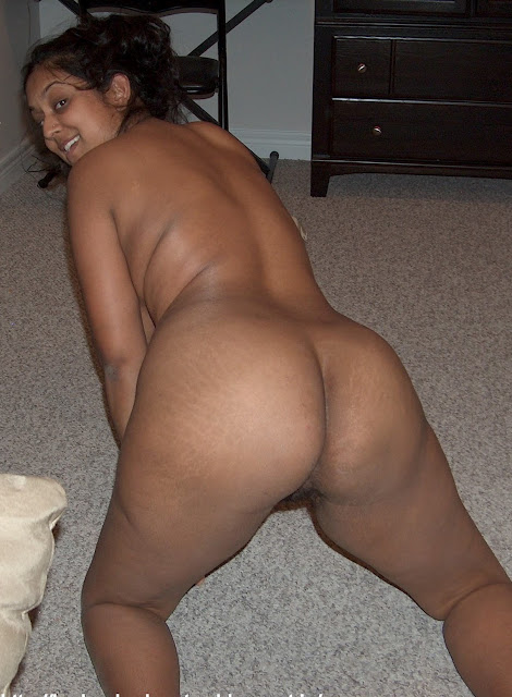 Indian Girl Nude Doggy Pose Image