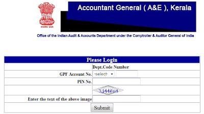 Accountant General Kerala Gpf