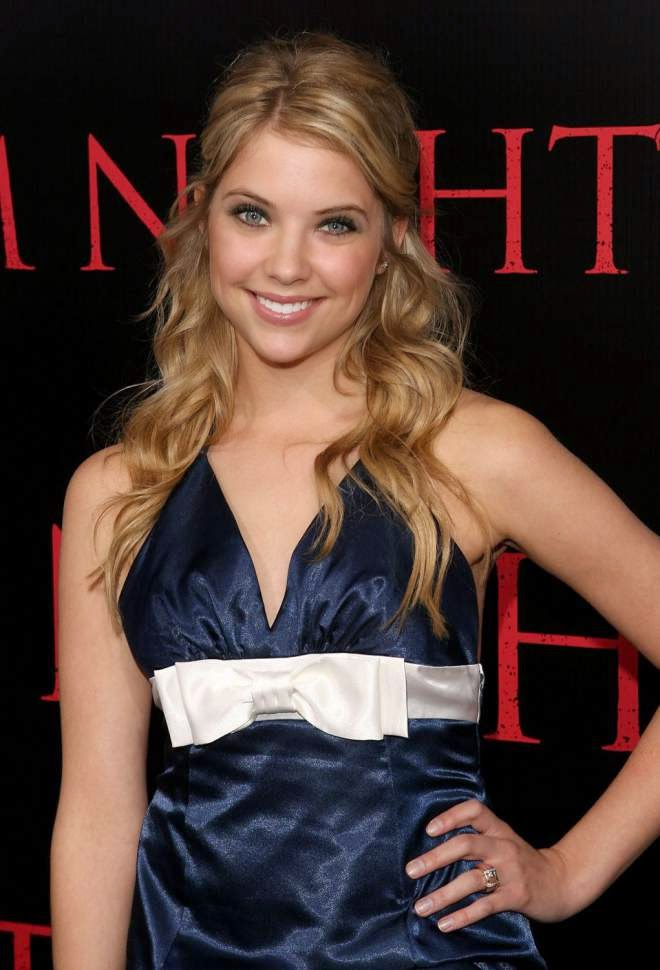 Ashley Benson Photos in Short Mini Dress