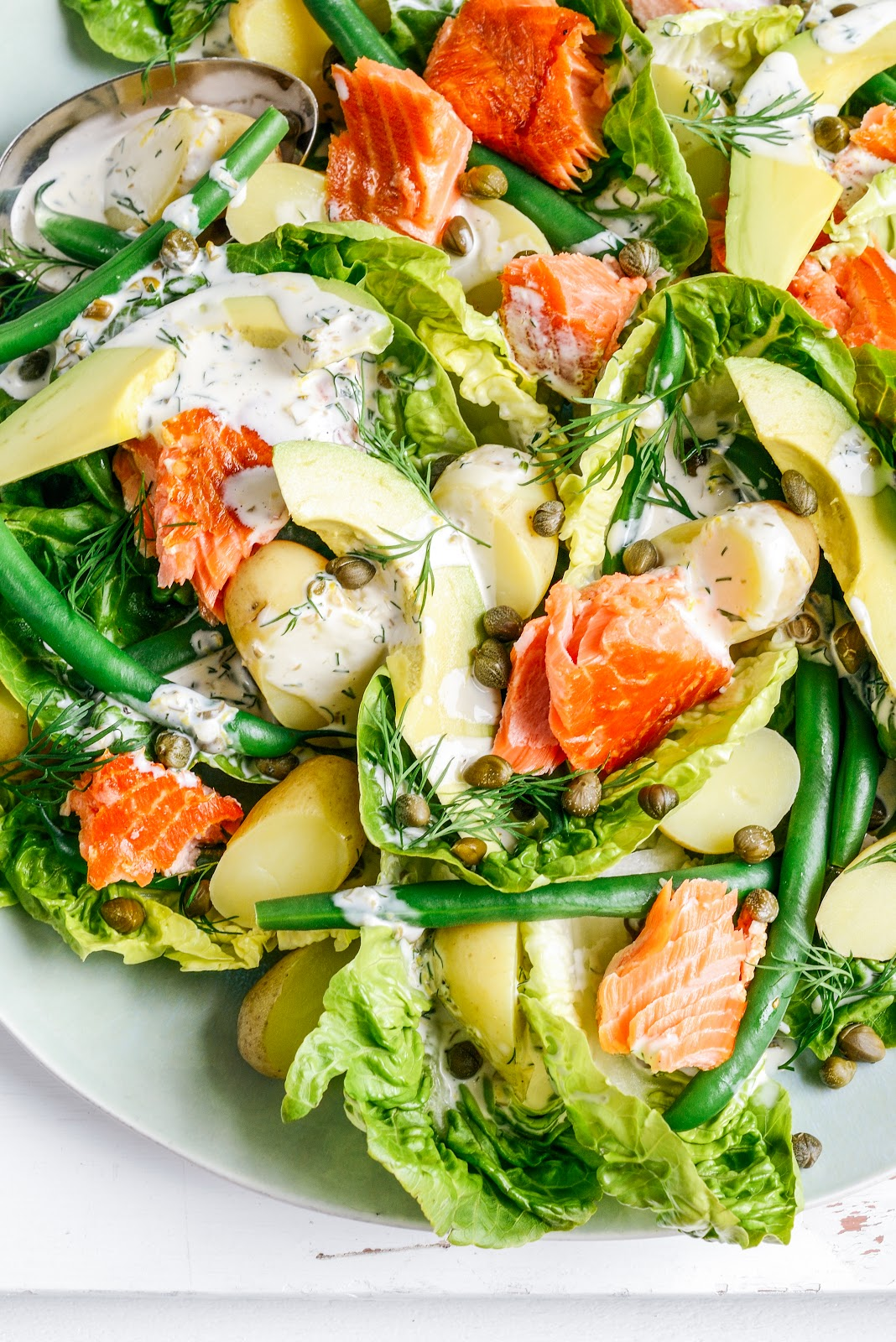 summer loving all-in salad – Stuck in the kitchen