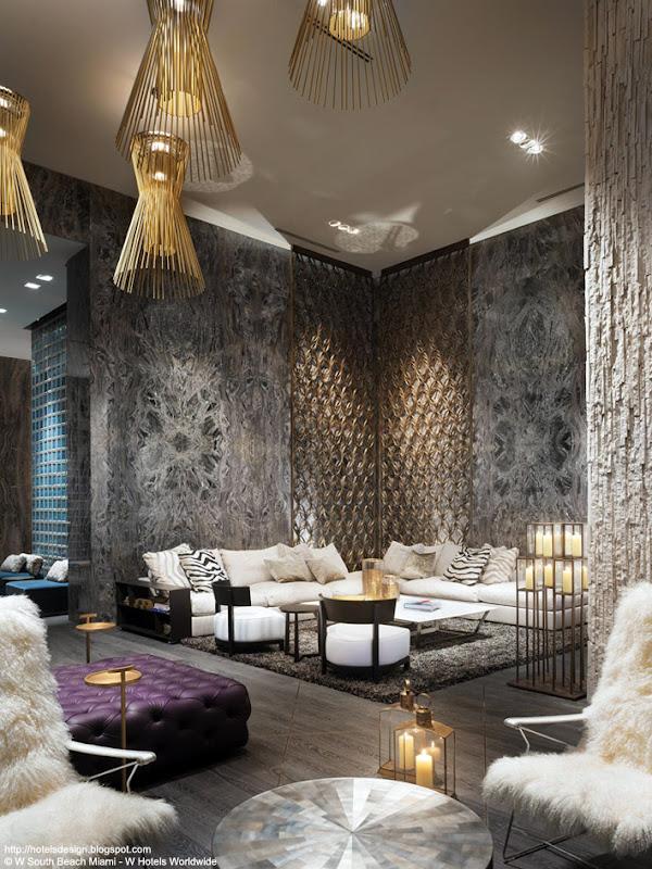Les plus beaux hotels design du monde h tel w south beach - Les plus beaux interieurs ...